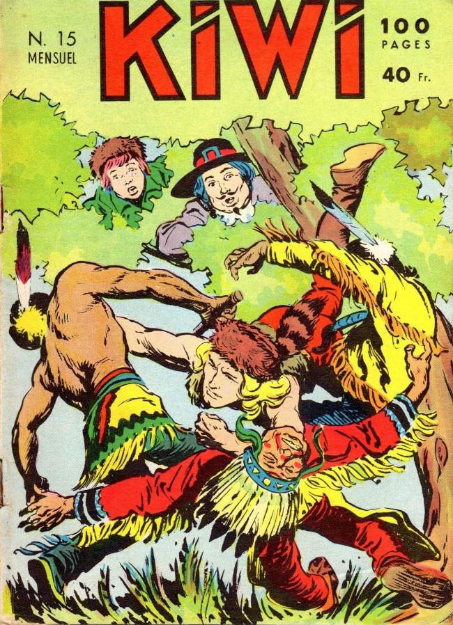 Couverture de Kiwi -15- L'homme au fouet (Suite)