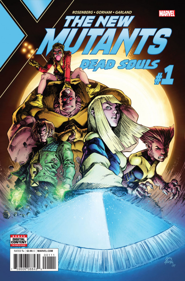Couverture de New Mutants: Dead Souls (2018) -1- Chapter 1: New Dawn Fades