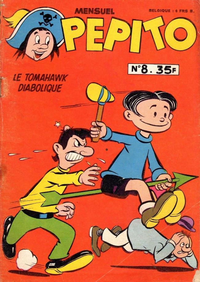 Couverture de Pepito (1re Série - SAGE) -8- Le tomahawk diabolique