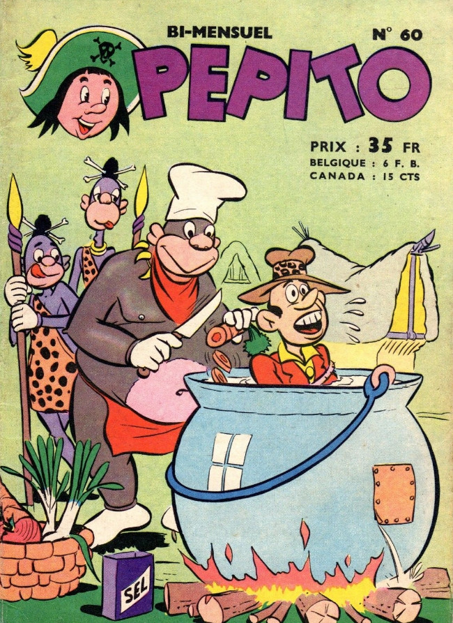 Couverture de Pepito (1re Série - SAGE) -60- Echec et mat