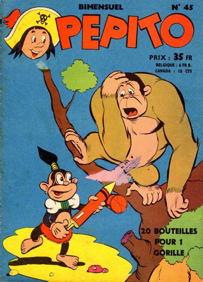 Couverture de Pepito (1re Série - SAGE) -45- Le trésor du château branlant