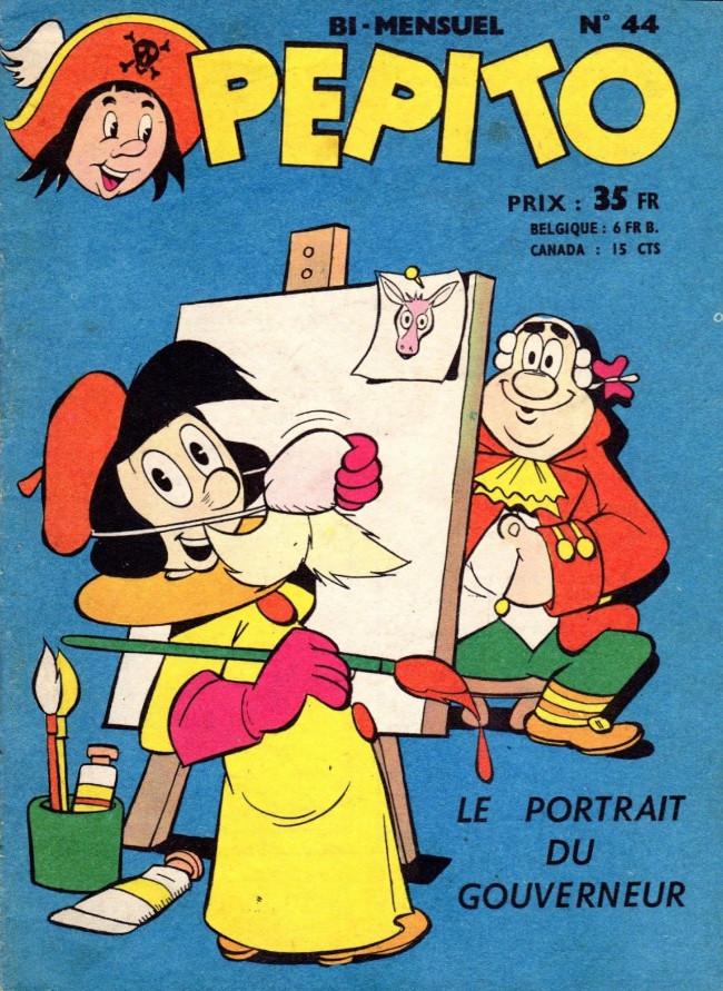 Couverture de Pepito (1re Série - SAGE) -44- Le portrait du Gouverneur