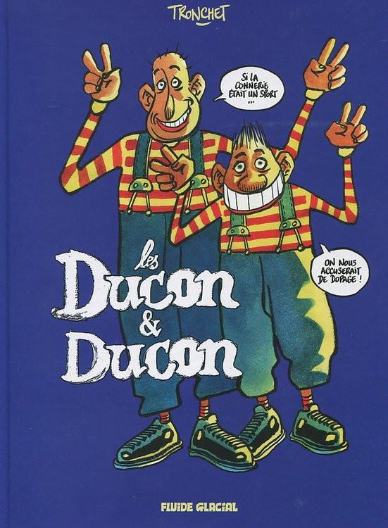 Couverture de Deux cons -2- Les Ducon & Ducon