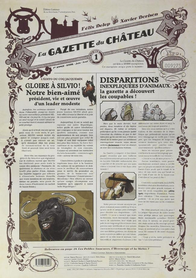 """Résultat de recherche d'images pour """"la gazette du chateau"""""""