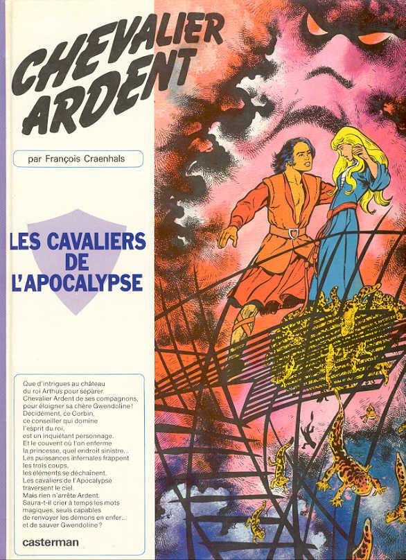 Couverture de Chevalier Ardent -12- Les cavaliers de l'apocalypse