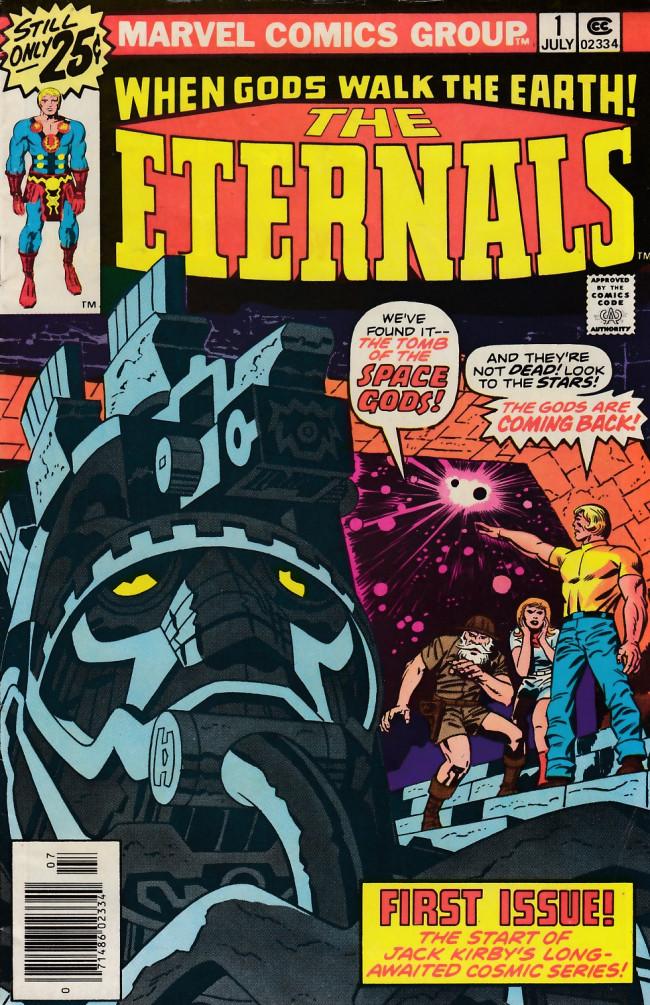 Couverture de The eternals Vol.1 (Marvel comics - 1976) -1- The Day of the Gods