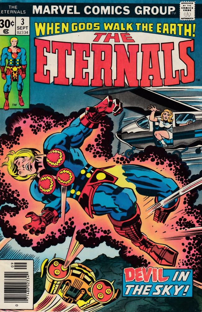 Couverture de The eternals Vol.1 (Marvel comics - 1976) -3- The Devil in New York!
