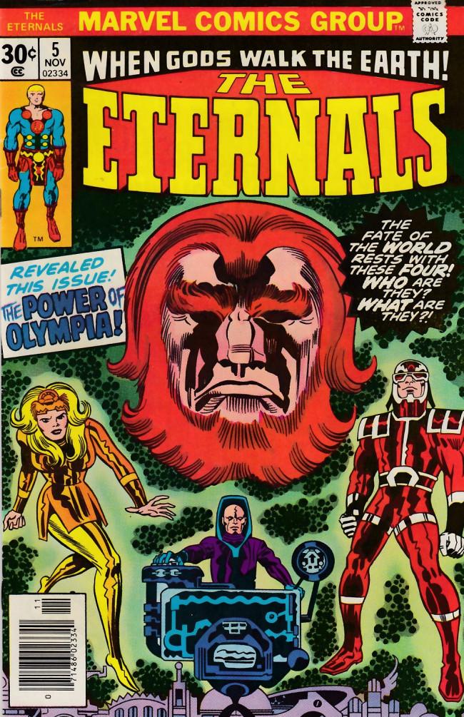 Couverture de The eternals Vol.1 (Marvel comics - 1976) -5- Olympia!