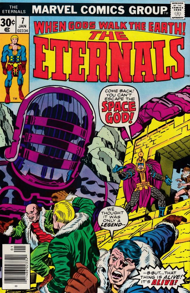 Couverture de The eternals Vol.1 (Marvel comics - 1976) -7- The Fourth Host