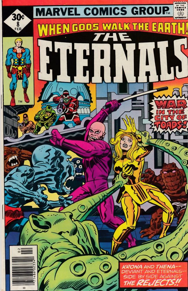 Couverture de The eternals Vol.1 (Marvel comics - 1976) -8- The City of Toads