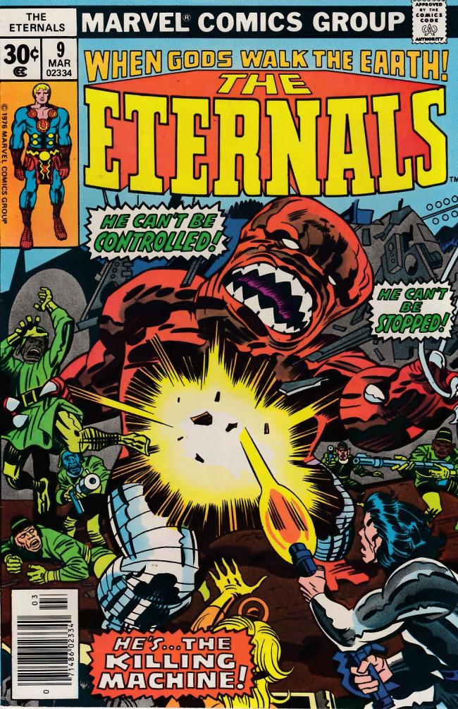 Couverture de The eternals Vol.1 (Marvel comics - 1976) -9- The Killing Machine!!