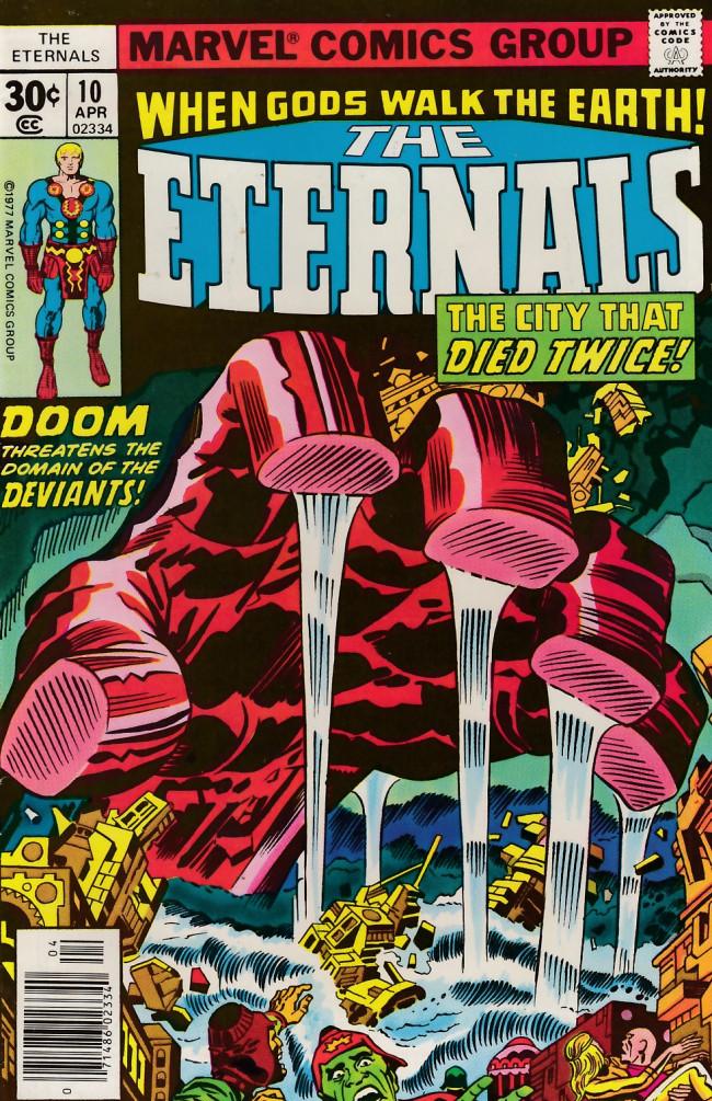 Couverture de The eternals Vol.1 (Marvel comics - 1976) -10- Mother!