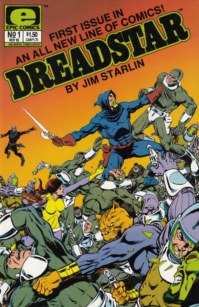 Couverture de Dreadstar (1982) -1- The quest