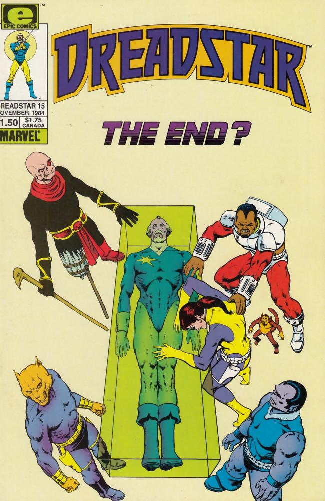 Couverture de Dreadstar (1982) -15- The power!