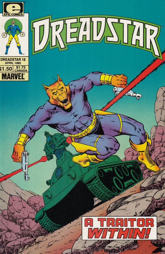 Couverture de Dreadstar (1982) -18- A traitor within