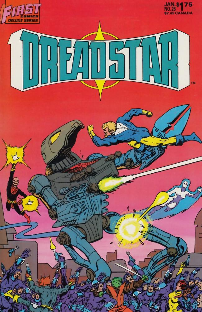 Couverture de Dreadstar (1982) -28- Freedom break
