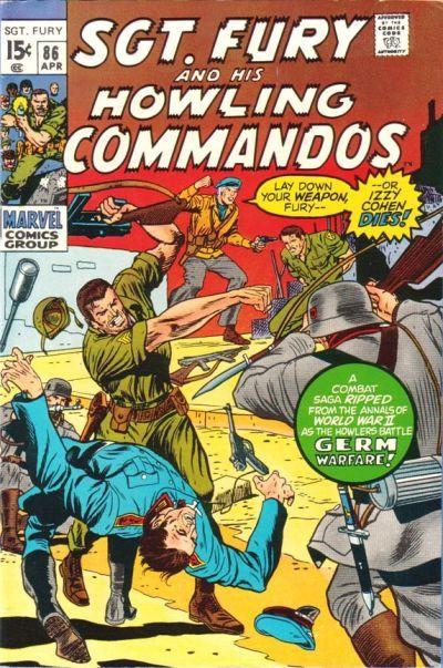 Couverture de Sgt. Fury and his Howling Commandos (Marvel - 1963) -86- (sans titre)