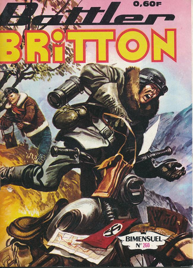 Couverture de Battler Britton -260- Comédie en 2 actes