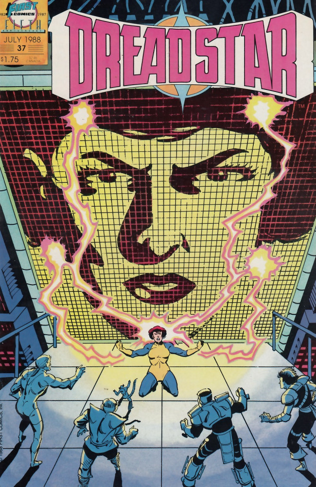 Couverture de Dreadstar (1982) -37- The quiet revolution