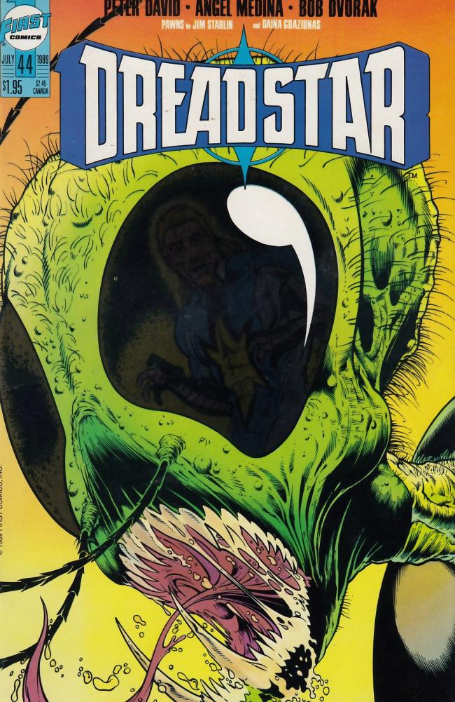 Couverture de Dreadstar (1982) -44- Styx and bones