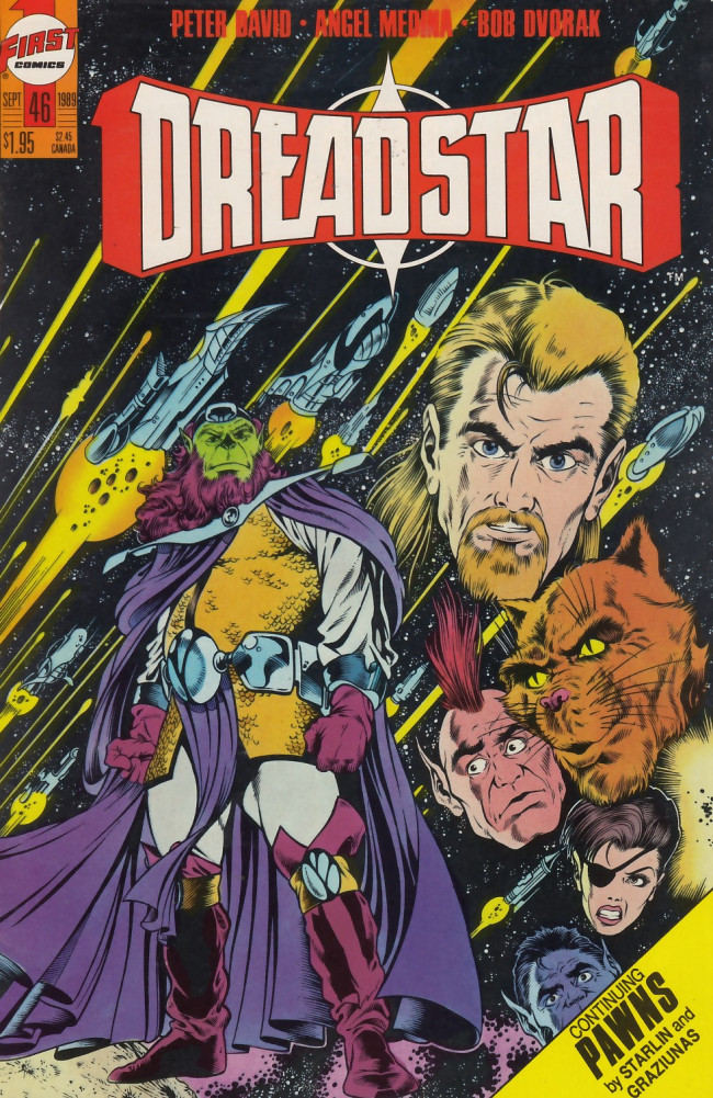 Couverture de Dreadstar (1982) -46- My galaxy and welcome to it