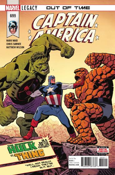 Couverture de Captain America (1968) -699- Out of time