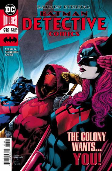 Couverture de Detective Comics (1937), Période Rebirth (2016) -978- Batmen Eternal - Part 3