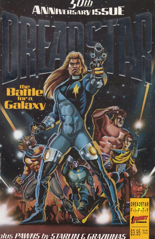 Couverture de Dreadstar (1982) -50- The battle for a galaxy