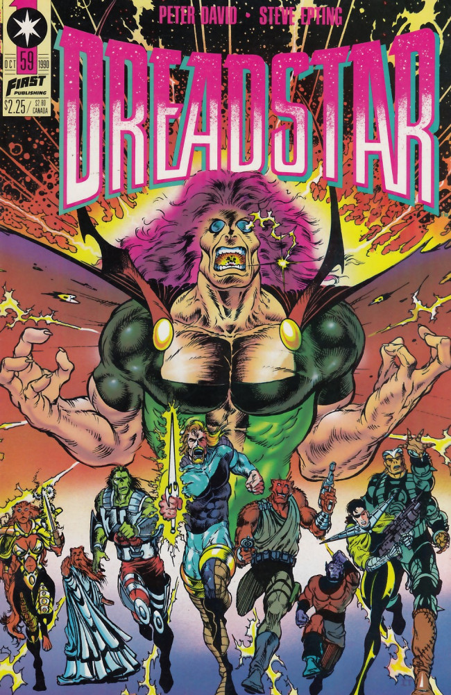 Couverture de Dreadstar (1982) -59- Beginning of the end