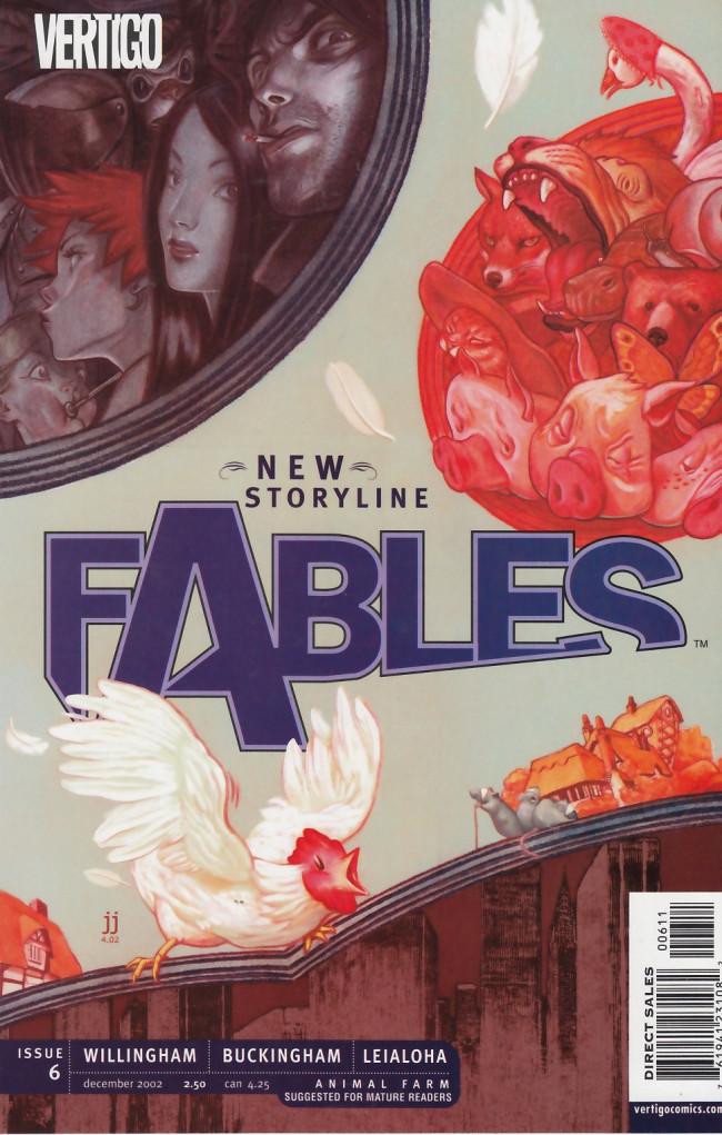 Couverture de Fables (2002) -6- Road trip