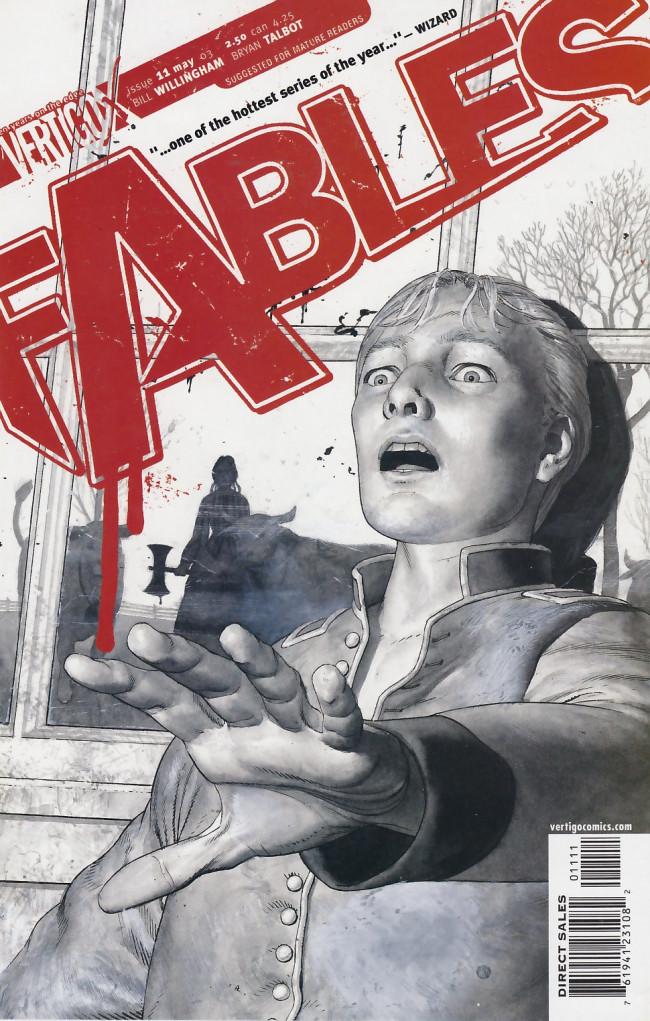 Couverture de Fables (2002) -11- Bag o' bones