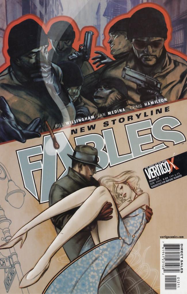 Couverture de Fables (2002) -12- A sharp operation