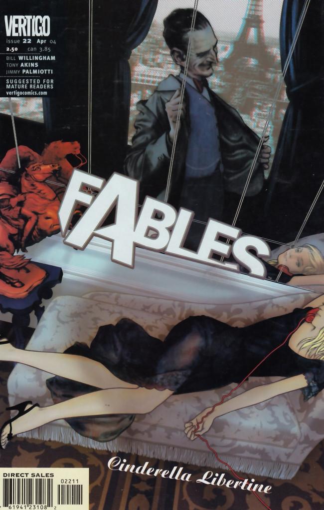 Couverture de Fables (2002) -22- Cinderella libertine