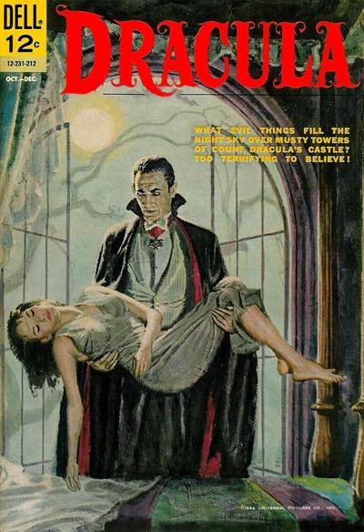 Couverture de Movie Classics (Dell - 1962) -231- Dracula