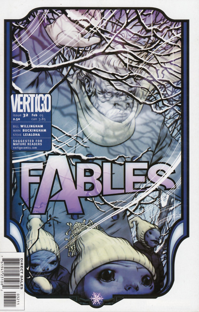 Couverture de Fables (2002) -32- The dark killing winter
