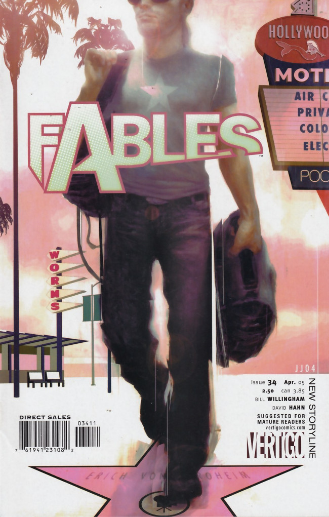 Couverture de Fables (2002) -34- Jack and Jill