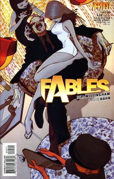 Couverture de Fables (2002) -35- Jack be nimble