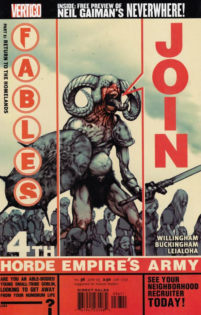 Couverture de Fables (2002) -36- Death & taxes