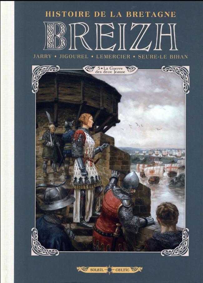 Couverture de Breizh - Histoire de la Bretagne -5- La Guerre des deux Jeanne