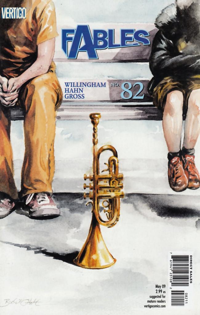 Couverture de Fables (2002) -82- Waiting for the blues