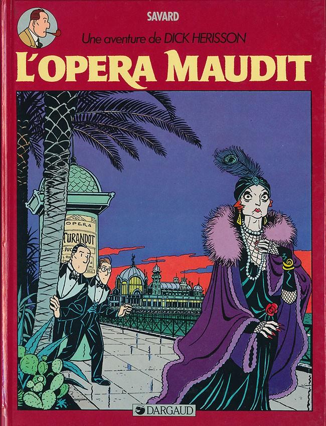Couverture de Dick Hérisson -3- L'opéra maudit