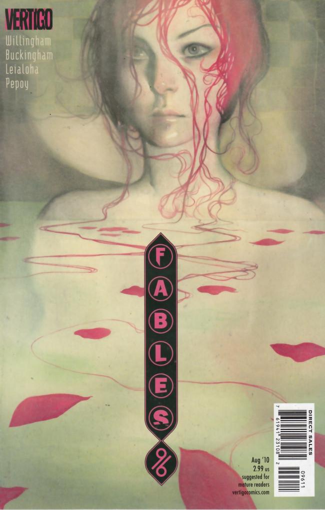 Couverture de Fables (2002) -96- Snow White and the seven dwarfs