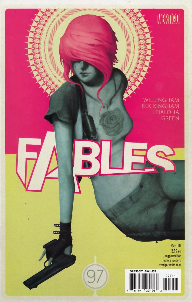 Couverture de Fables (2002) -97- Dark ages party girl