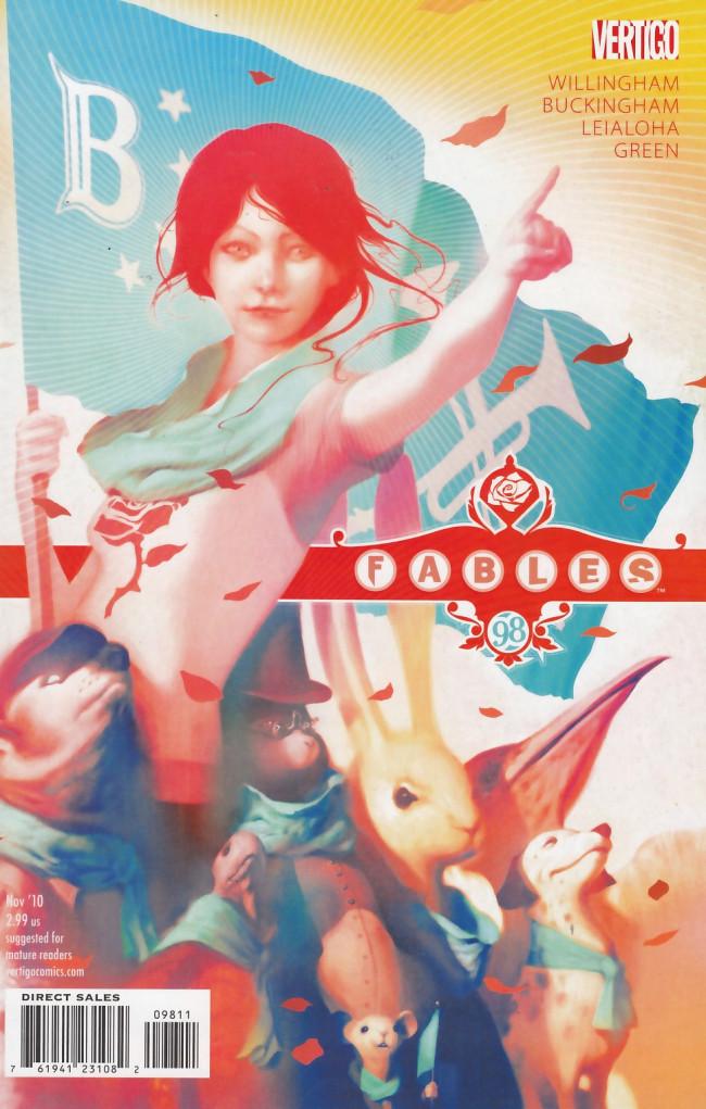 Couverture de Fables (2002) -98- Red dawn