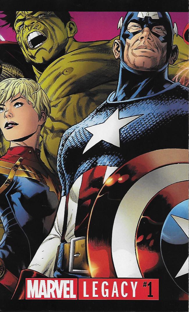 Couverture de Marvel Legacy (2017) -1- Issue #1
