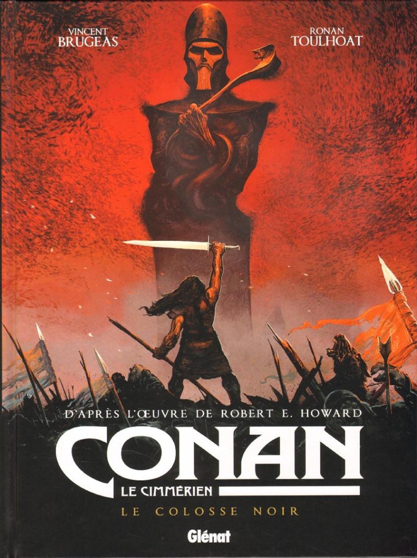 Couverture de Conan le Cimmérien -2- Le Colosse noir