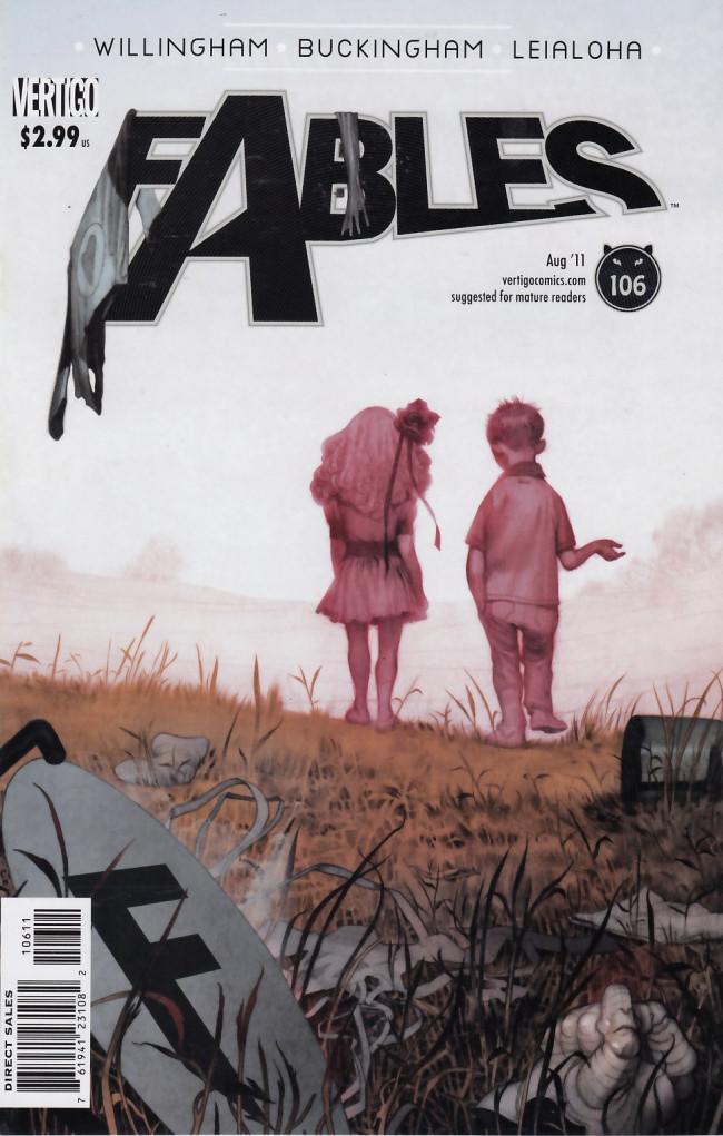 Couverture de Fables (2002) -106- Downfall