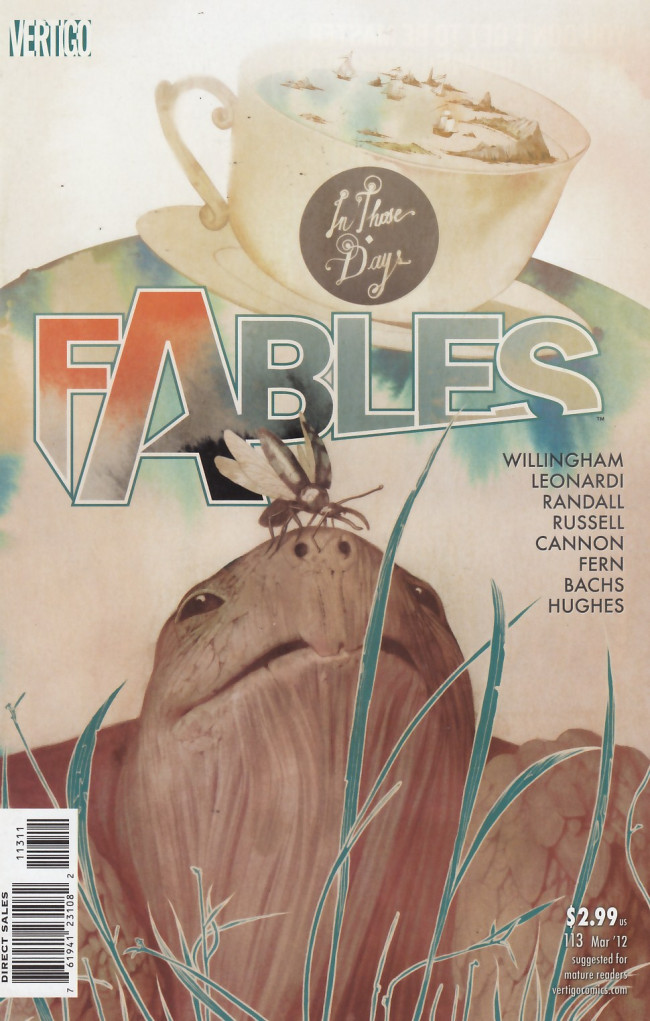 Couverture de Fables (2002) -113- In those days