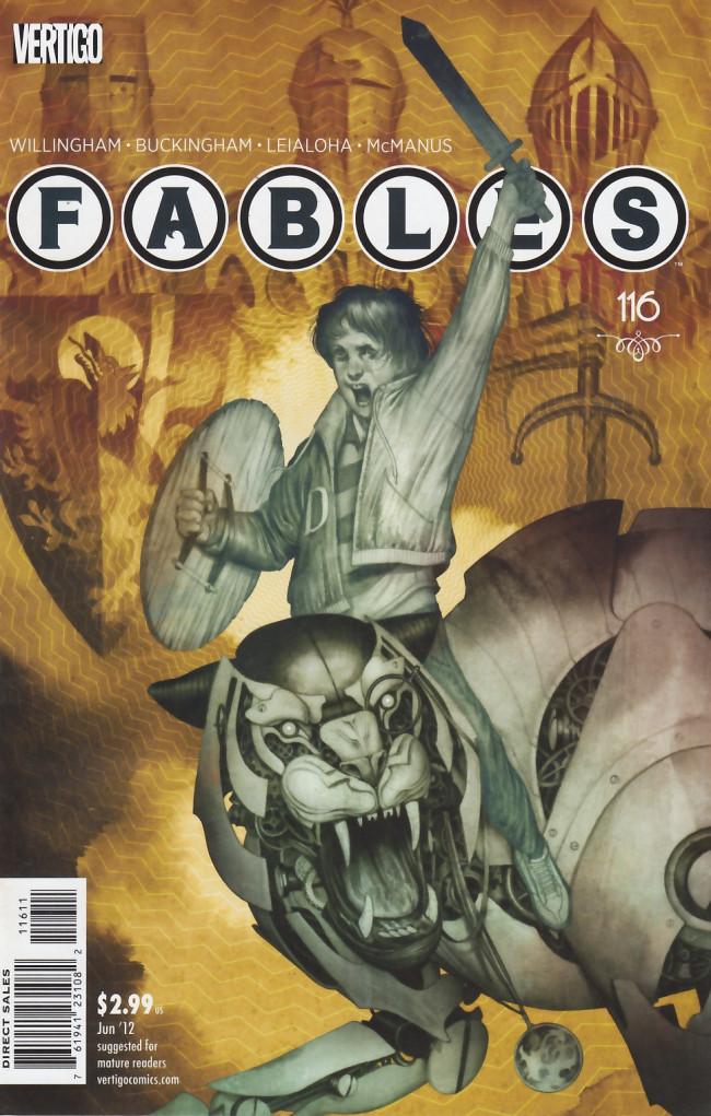 Couverture de Fables (2002) -116- Clockwork tiger