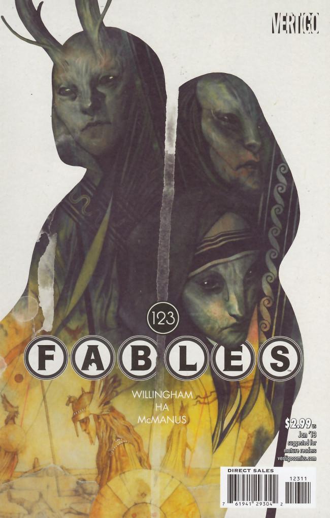 Couverture de Fables (2002) -123- The destiny game part two